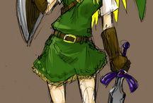 Legend of Zelda / by Kat Franklin