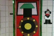 School- Classroom Doors / Door Decorating Ideas :) / by Becca Sandager