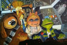 Star Wars and Muppets / Come in here to see all things relating to the Muppets & Star Wars! / by Erika Blake