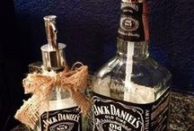 jack daniels bottle crafts