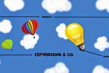 Ispirazioni & Co / Ispirazioni & Co. nasce dalla voglia di liberare la propria creatività, lasciandosi ispirare dai temi, che verranno proposti mensilmente.   L'intento è quello di divertirsi, incuriosirsi, scoprire, conoscere, sperimentarsi e condividere le infinite strade che può prendere un'idea.