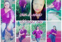 me being me!