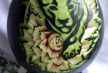 warzywa / carving arbuzy i inne warzywa