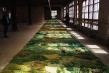 Textile Carpet Flour