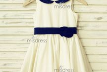 Cotton Girl Dresses / Cotton fabric is comfortable to touch.