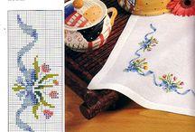 cross stitch foe table