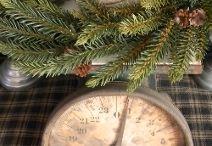Prim Christmas Decorating / by Cheryl Howard