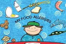 Food Allergy Children's Literature / A collection of children's books that deal with food allergies.