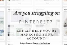 Marketing With Pinterest / How to use Pinterest to market your blog or business.  Pinterest for bloggers, Pinterest for business, Pinterest marketing, blog marketing, social media marketing, using pinterest