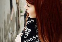 Red Auburn Hair
