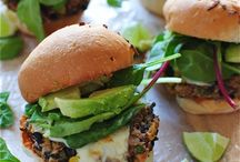 Bean Burgers! / Burgers made with all kinds of beans!