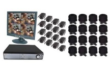 Complete DVR Security Systems / Whether you have a large or small area to secure, one of our DVR systems will work for you. Not only will this system digitally record video, but if you have Internet access you can see what is going on in real-time from anywhere in the world. Available in a wired or wireless version complete with cameras, a DVR and all necessary cables and components. / by Coco Day