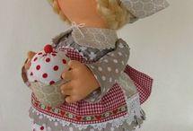 Текстильные куклы и игрушки / рукоделие