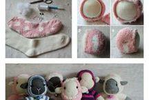 Носки-игрушки