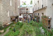 urban garden architecture spaces