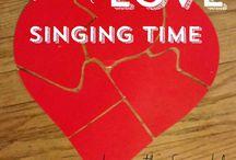 Primarily singing...