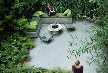 Ambiance Petit espace vert