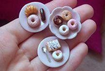 Miniature dolcetti fimo