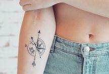 średnie tatuaże