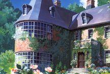 Houses Ghibli
