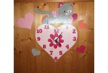 Horloges murales décoratives pour enfant