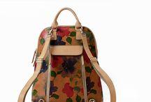 leadher rucksack