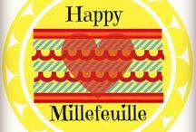 """Visuel de Happy Millefeuille / C'est simple : ici je collectionne tous les 'visus' de mon blog """"The Happy Millefeuille de Lucie C."""""""