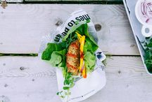 EAT | Veggie Burgers / by Running With Tongs