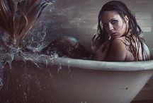 Urban Mermaids / Mitch never thought splashing in puddles would bring him true love, until he fell into one. Wade in the deep end by downloading FREE novella at www.shadowleitner.com