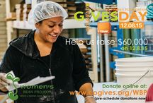 Colorado Gives Day 2015 / Help us raise $60,000 on Colorado Gives Day 2015! 60,000 enables the Bean Project to provide 7,500 hours of job readiness training, lifeskills classes and individualized job placement services during their transitional employment. This translates to confidence, self-sufficiency, stability and a new future. We hope we can count on your gift this year on Colorado Gives Day on December 8th.