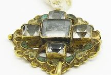 Antique broaches and clasps