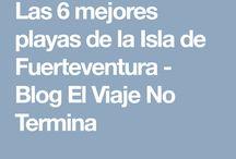 Las 6 mejores playas de la Isla de Fuerteventura, en las Islas Canarias