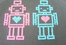Roboter Bügelperlen