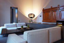 FORTUNY LAMP AT CARO HOTEL VALENCIA / #fortunylamp, Black version, at the #Caro_Hotel_Valencia