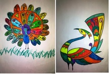Drawing and colouring for kids / by Vatsala Rana