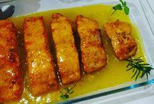 Peixe e frutos do mar