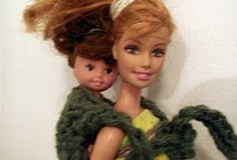 Youth: Barbie Dolls / Barbie Dolls: Includes - Crochet doll clothes, sewing doll clothes, doll hair fixes, how to clean dolls, & much more. / by Lin Krueger