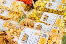 Popcorn Markets and Festivals / Tampa Bays first gourmet popcorn shop IPop gourmet popcorn Tampa