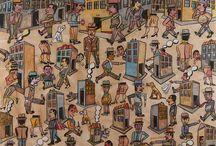Antonio SEGUÍ - Exhibition 25.09 / 31.10.2015 / Exhibition of paintings and sculptures by the Argentin painter Antonio SEGUÍ at Galerie Laurent STROUK.