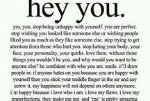 Love Thy self.