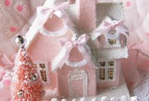 *** Glitter Houses // Christmas Villages ***