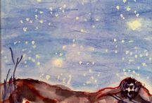 """Pintura: Parramon pinta Liu Shen / El artista Joan Parramon hizo la portada de mi novela """"El secreto de Liu Shen"""". Se presentan diversos ensayos y el que se eligió para la obra. Pueden encontrar esta en: https://goo.gl/m9zTa0"""