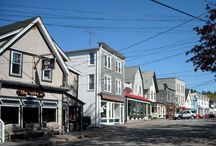 Main Streets Across New England / New England has some great downtown districts in its cities and towns. Come take a look!