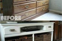 DIY/Upcycled Furniture / by Lindsey Beck
