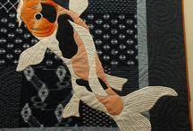 Sashiko / The traditional Japanese art of sashiko done in an interesting way