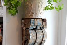 Home: Rustic Refined Design and Decor / Chippy, Rusty, Aged, Yet Elegant