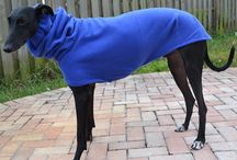 Galgo & Saluki Coats / Limited designer fashion created specifically for your Galgo, Saluki, or small Greyhound. Darted in all the right places to fit their smaller, more petite frames.