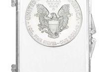 2014 Silver American Eagle BU In Cases