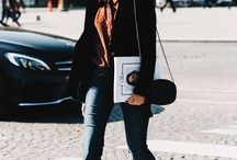 parisian style / French streets always inspiring