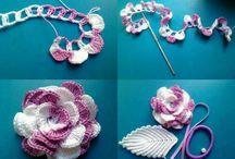 flor de crochet 3